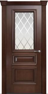 """Межкомнатная дверь """"Бристоль Сити"""", по, итальянский орех"""