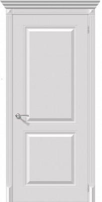 """Межкомнатная дверь """"Бриз"""", пг, белый"""