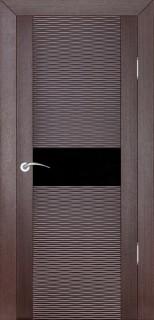 """Межкомнатная дверь """"Д2 бриз"""", по, венге"""