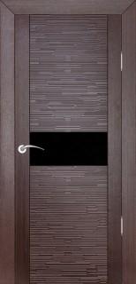 """Межкомнатная дверь """"Д2 техно"""", по, венге"""