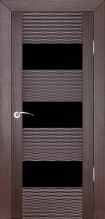"""Межкомнатная дверь """"Д3 бриз"""", по, венге"""