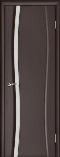 """Межкомнатная дверь """"Диадема 1"""", по, венге"""