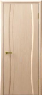 """Межкомнатная дверь """"Диадема 1"""", пг, беленый дуб"""