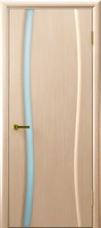 """Межкомнатная дверь """"Диадема 1"""", по, беленый дуб"""