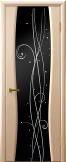 "Межкомнатная дверь ""Диамант 2"", по, беленый дуб"