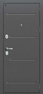 """Стальная дверь Groff """"Т2-223"""", Cappuccino Veralinga"""