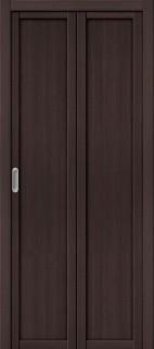 """Складная дверь """"Твигги М1"""", пг, Wenge veralinga"""