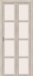 """Складная дверь """"Твигги V4"""", по, Cappuccino veralinga"""