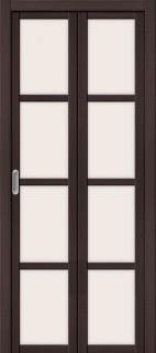 """Складная дверь """"Твигги V4"""", по, Wenge veralinga"""