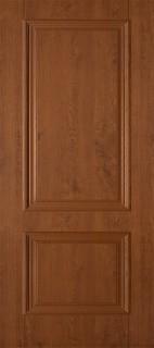 """Межкомнатная дверь ПВХ """"Дуэт"""", пг, светлый орех"""