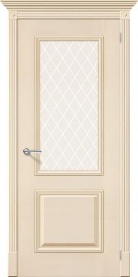 """Межкомнатная дверь """"Гранд"""", по, ваниль"""