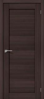 """Межкомнатная дверь """"Порта-21"""", пг, Wenge Veralinga"""