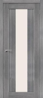 """Межкомнатная дверь """"Порта-25 alu"""", по, Grey Veralinga"""