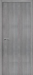 """Межкомнатная дверь """"Порта-50"""", пг, Grey Crosscut"""