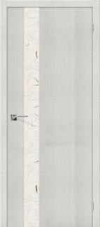 """Межкомнатная дверь """"Порта-51 SA"""", по, Bianco Crosscut"""