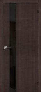 """Межкомнатная дверь """"Порта-51 BS"""", по, Wenge Crosscut"""