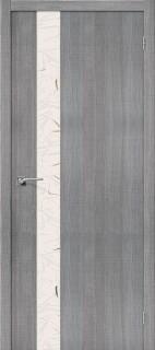 """Межкомнатная дверь """"Порта-51"""", по, Grey Crosscut"""