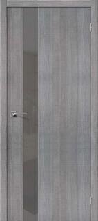 """Межкомнатная дверь """"Порта-51 S"""", по, Grey Crosscut"""