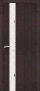 """Межкомнатная дверь """"Порта-51"""", по, Wenge Crosscut"""