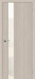 """Межкомнатная дверь """"Порта-51 WP"""", по, Cappuccino Crosscut"""