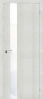 """Межкомнатная дверь """"Порта-51 WW"""", по, Bianco Crosscut"""