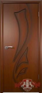 """Межкомнатная дверь """"Лилия"""", пг, макоре"""
