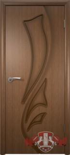 """Межкомнатная дверь """"Лилия"""", пг, орех"""