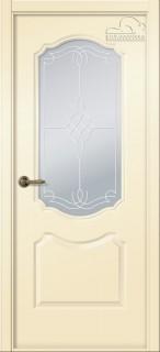 """Межкомнатная дверь """"Перфекта"""", по, ваниль"""