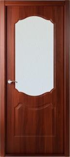 """Межкомнатная дверь """"Перфекта"""", по, рис. Диамант, итальянский орех"""