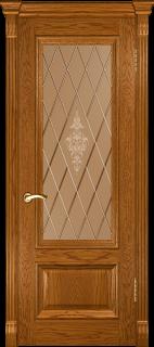 """Межкомнатная дверь """"Фараон 1"""", по, дуб золотистый"""