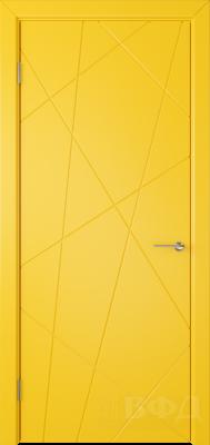 """Межкомнатная дверь """"Флитта"""", пг, желтый"""