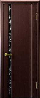 """Межкомнатная дверь """"Эксклюзив 1"""", по, венге"""