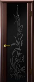 """Межкомнатная дверь """"Эксклюзив 2"""", по, венге"""