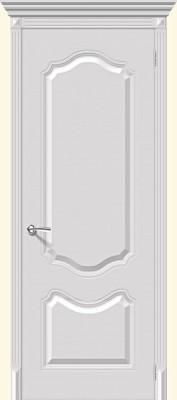 """Межкомнатная дверь """"Фолк"""", пг, белый"""