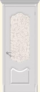"""Межкомнатная дверь """"Фолк"""", по, белый"""