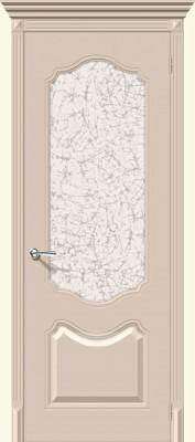 """Межкомнатная дверь """"Фолк"""", по, крем"""