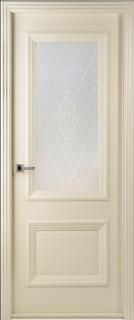 """Межкомнатная дверь """"Франческа"""", по, рис. 34, слоновая кость"""