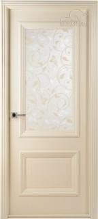 """Межкомнатная дверь """"Франческа"""", по, рис. 28, слоновая кость"""