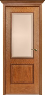 """Межкомнатная дверь """"Гранд"""", по, орех-коньяк"""