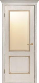 """Межкомнатная дверь """"Гранд"""", по, слоновая кость"""