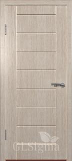 """Межкомнатная дверь """"Сигма 11"""", пг, беленый дуб"""