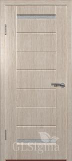 """Межкомнатная дверь """"Сигма 12"""", по, беленый дуб"""