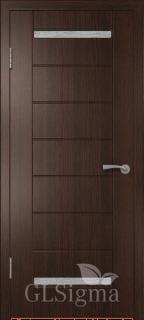 """Межкомнатная дверь """"Сигма 12"""", по, венге"""