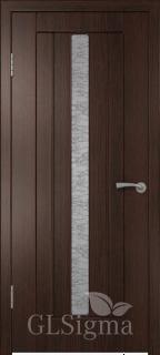 """Межкомнатная дверь """"Сигма 2"""", по, венге"""