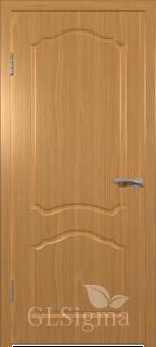 """Межкомнатная дверь """"Сигма 3"""", пг, миланский орех"""