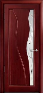 Межкомнатная дверь Ирэн, по, красное дерево