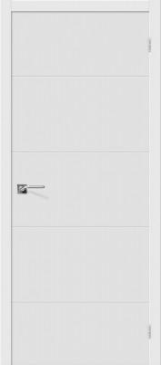 """Межкомнатная дверь """"Граффити-2"""", пг, белый"""