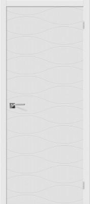 """Межкомнатная дверь """"Граффити-3"""", пг, белый"""