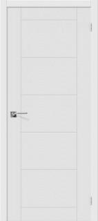 """Межкомнатная дверь """"Граффити-4"""", пг, белый"""