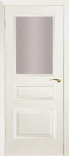 """Межкомнатная дверь """"Капелла"""", по, белый ясень"""